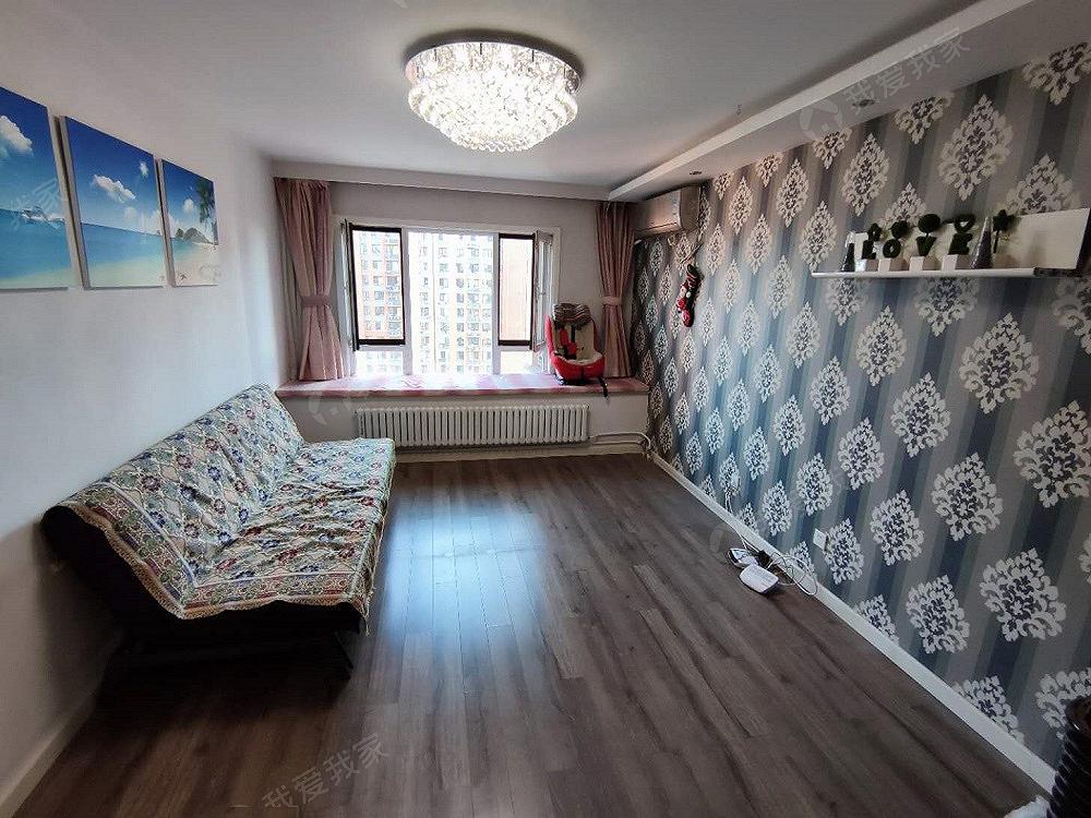 红木林北区,精装修两居室,拎包入住,