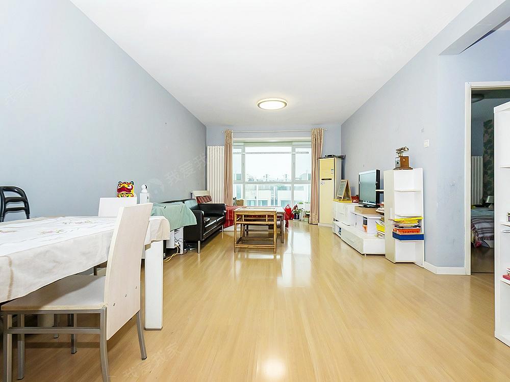 华纺易城 全南向两居室 自住精装修 高层无遮挡