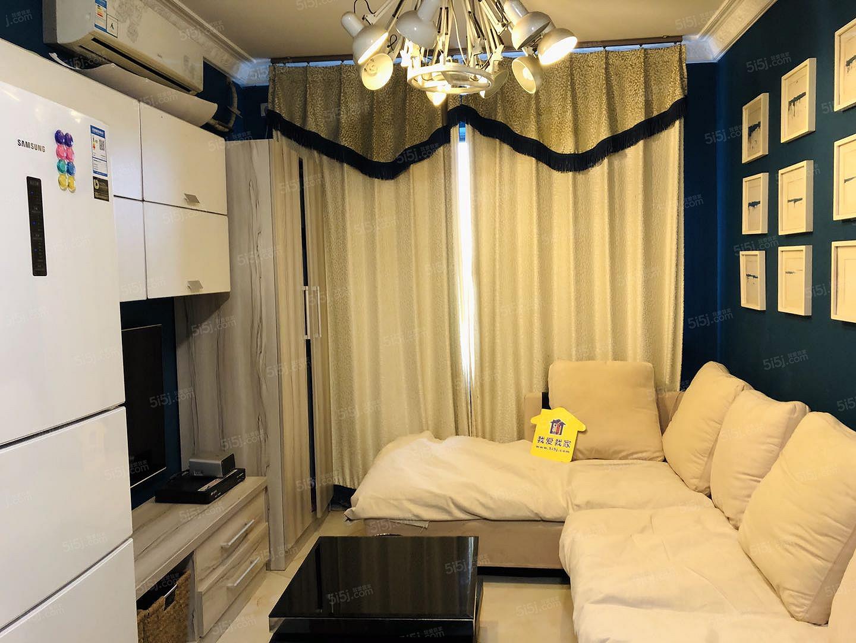 八通线临河里站 精装正规一居室 随时看房 拎包入住